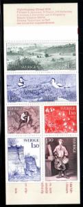 Sweden Sc 1247a 1978 von Linne stamp booklet mint NH
