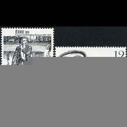 IRELAND 1977 - Scott# 418-9 Anniv.-Poet etc. Set of 2 NH