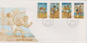 Tokelau Islands 1981 Sports Issue First Day Cover