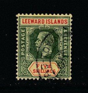 Leeward Islands, Sc 60 (SG 57a), used
