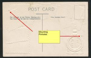 Great Britain Ottmar Zieher embossed OZ stampcard No.40.