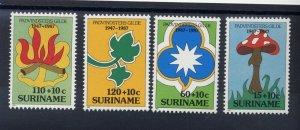 1987 Surinam Girl Guides 40th anniversary