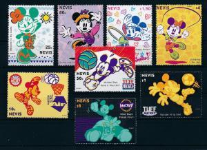 [23225] Nevis 1994 Disney Mickey Mouse Sports Soccer Basketball Minnie MNH