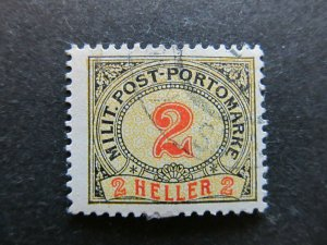 A3P23F260 Bosnia & Herzegovina Postage Due Stamp 1904 2h used