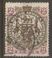 Rhodesia #52 Used (crease)