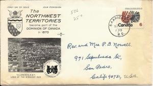 Canada 1970 Scott# 506 FDC