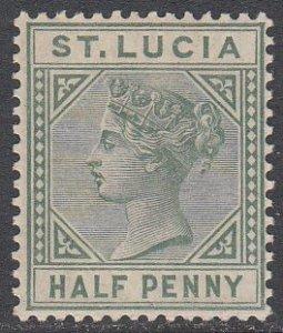 St. Lucia 27a MVLH CV $17.50