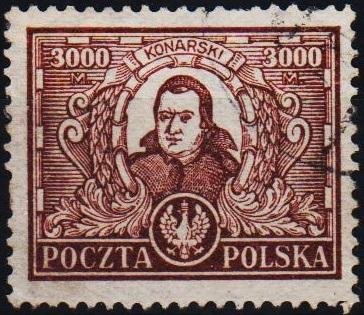 Poland. 1923 3000m S.G.200 Fine Used
