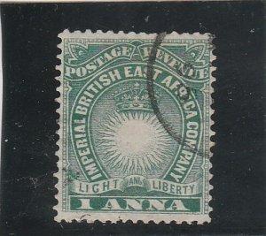 British East Africa  Scott#  15  Used