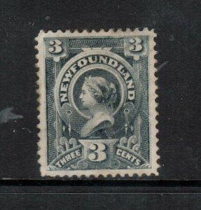 Newfoundland #60 Very Fine Mint Original Gum Hinged