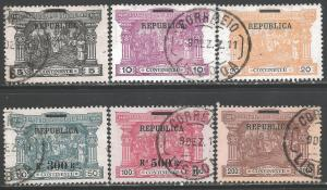 PORTUGAL 193-98 VFU SCARCE SET Q55