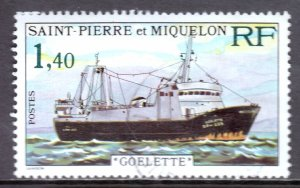St. Pierre and Miquelon - Scott #452 - Used - Unevenness - SCV $6.75