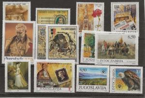 Wholesale Lot. Yugoslavia C  2042//2109 10* sets (NH) [flrd]