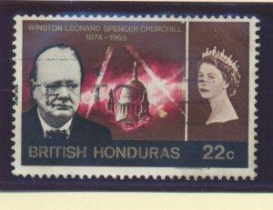 British Honduras Stamp Scott #193, Used