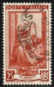 Italy 1950 Scott# 558 Used