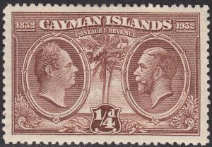 Cayman Islands 69 Kings 1932