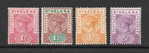 Saint Helena - SG# 47 - 49 + 51 MH  /  Lot 1118261