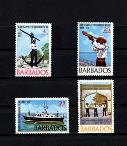 BARBADOS - 1967 -BRIDGETOWN HARBOR POLICE - ANCHOR MONUMENT ++ MINT - MNH SET!