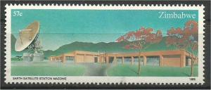 ZIMBABWE, 1985, MNH 57c, Satellite Station Scott 492