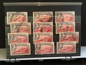 Gibraltar used  stamps   R31540