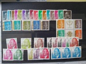 Lot Spain Don Juan Carlos 1985-2005 used/unused