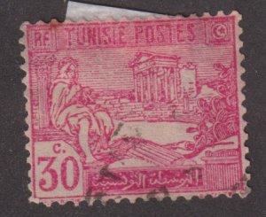 Tunisia 67 Arab and Ruins of Dougga 1922