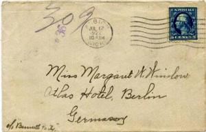 United States Washington Franklins 5c Washington Franklin 1922 Albion, Mich. ...
