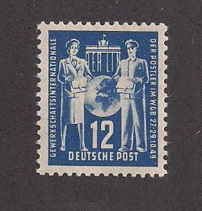 GERMANY - DDR SC# 49 F-VF MNH 1949