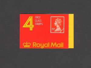 GB: Sc. BK349 /** 72 PENNY-QE II DECIMAL ** / Folded Non-Window Booklet /MNH
