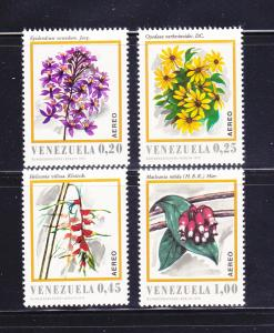 Venezuela C1049-C1052 Set MNH Flowers