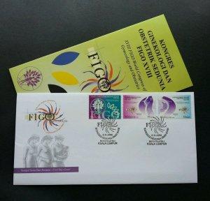 XVIII Figo World Congress of Gynaecology Malaysia 2006 (stamp FDC)