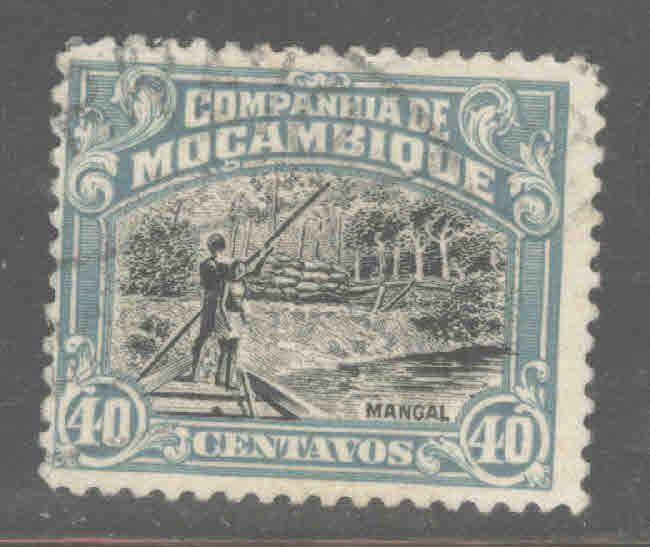 Mozambique  Company Scott 136 Used stamp