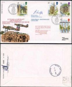RFDC74b Industrial Archaeology 4 July 1989 Signed by Mr. M.C. Llewellyn (B)