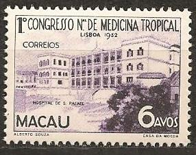 Macao #364 Mint Never Hinged F-VF CV $9.75  (ST613)