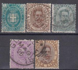 Italy #52-6 Fine Used CV $104.25 (B10136)