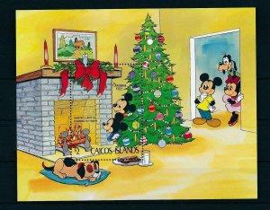 [22173] Caicos Islands 1983 Disney Characters, Christmas MNH
