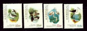 Portugal 1542-45 MNH 1982 Birds