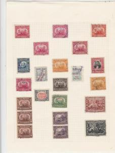nicaragua stamps on page ref 16537