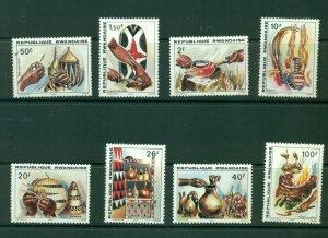 Rwanda  #926-33  (1979 Crafts set) VFMNH CV $6.70