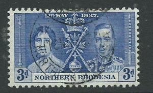 Northern Rhodesia  SG 24 VFU