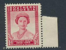 Southern Rhodesia  SG 64  Mint never Hinged