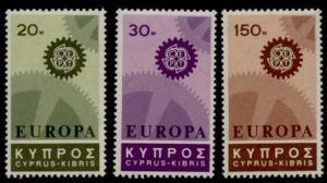 Cyprus 297-9 MNH EUROPA