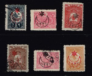 TURKEY STAMP COLLECTION LOT  #T4