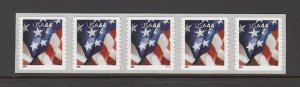 USA PNC SC# 4395 FLAG $0.44c. SPACE PL# V1111 S. A.- MNH - PNC5