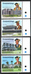 Trinidad and Tobago. 1990. 600-3. West Indian University. MNH.