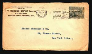 Trinidad & Tobago - 3 1920s Commercial Covers (See Image For Condition) - Z15967