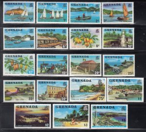 Grenada, Sc 583-601 (2), MNH, 1975, Island Views