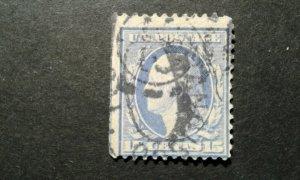 US #382 used SL wmk perf 12 e206 10253