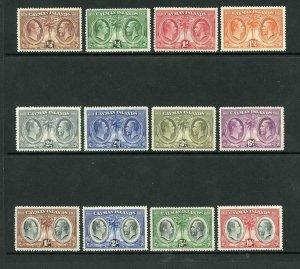 Cayman Is SG84/95 1932 Centenary Set Fine M/M