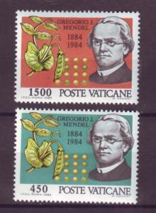 J15841 JLstamps 1984 vatican city set mnh #729-30 mendal